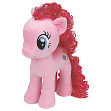Buy Ty My Little Pony Pinkie Pie Beanie Baby, 30cm Online at johnlewis.com