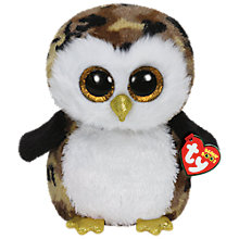 Buy Ty Beanie Boo Owliver Owl Soft Toy, 40cm Online at johnlewis.com