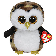 Buy Ty Beanie Boo Owliver Owl Soft Toy, 24cm Online at johnlewis.com