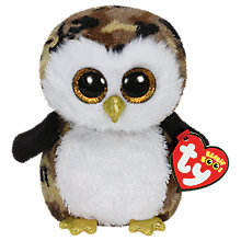 Buy Ty Beanie Boo Owliver Owl Soft Toy, 16cm Online at johnlewis.com