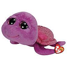 Buy Ty Beanie Boo Slow Poke Turtle Soft Toy, 24cm Online at johnlewis.com