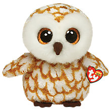 Buy Ty Beanie Boo Swoops Owl Soft Toy, 24cm Online at johnlewis.com