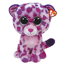 Buy Ty Beanie Boo Glamour Leopard Soft Toy, 40cm Online at johnlewis.com