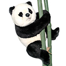 Buy Hansa Sitting Panda Cub Soft Toy, 25cm Online at johnlewis.com