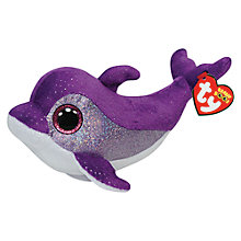 Buy Ty Beanie Boo Flips Dolphin Soft Toy, 16cm Online at johnlewis.com