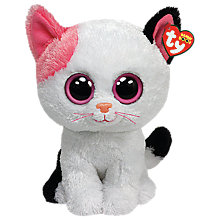 Buy Ty Beanie Boo Muffin Cat Soft Toy, 24cm Online at johnlewis.com