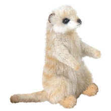 Buy Hansa Sitting Meerkat Soft Toy, Miniature Online at johnlewis.com
