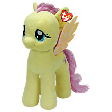 Buy Ty My Little Pony Fluttershy Beanie Baby, Large Online at johnlewis.com