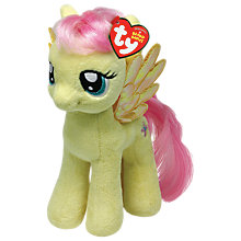 Buy Ty My Little Pony Fluttershy Beanie Baby, 30cm Online at johnlewis.com