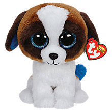 Buy Ty Beanie Boo Duke Dog Soft Toy, 24cm Online at johnlewis.com