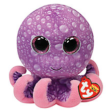 Buy Ty Beanie Boo Legs Octopus Soft Toy, 16cm Online at johnlewis.com