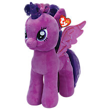 Buy Ty My Little Pony Sparkle Beanie Baby, Large Online at johnlewis.com