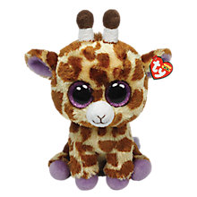 Buy Ty Beanie Boo Safari Giraffe Soft Toy, 40cm Online at johnlewis.com