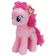 Buy Ty My Little Pony Pinkie Pie Beanie Baby, Large Online at johnlewis.com