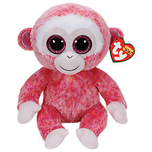 Buy Ty Beanie Boo Ruby Monkey Soft Toy, 24cm Online at johnlewis.com