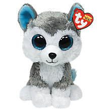 Buy Ty Beanie Boo Slush Dog Soft Toy, 16cm Online at johnlewis.com