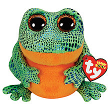 Buy Ty Beanie Boo Speckles Frog Soft Toy, 16cm Online at johnlewis.com