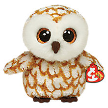 Buy Ty Beanie Boo Swoops Owl Soft Toy, 16cm Online at johnlewis.com