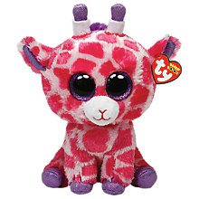 Buy Ty Beanie Boo Twigs Giraffe Soft Toy, 24cm Online at johnlewis.com