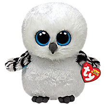 Buy Ty Beanie Boo Spells Owl Soft Toy, 16cm Online at johnlewis.com