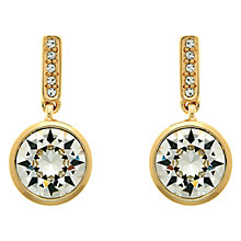 Buy Melissa Odabash Swarovski Crystal Round Drop Earrings Online at johnlewis.com