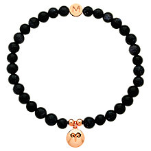 Buy Melissa Odabash Rose Gold & Crystal Aries Bracelet, Blue Online at johnlewis.com