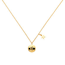 Buy Melissa Odabash Gold & Peridot Leo Pendant, Gold Online at johnlewis.com