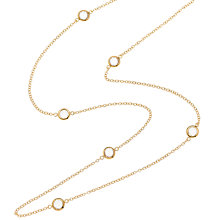 Buy Melissa Odabash Swarovski Crystal Long Chanel Necklace Online at johnlewis.com