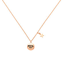 Buy Melissa Odabash Rose Gold & Amethyst Aqua Pendant, Rose Gold Online at johnlewis.com