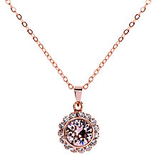 Buy Ted Baker Sela Crystal Daisy Pendant Necklace Online at johnlewis.com