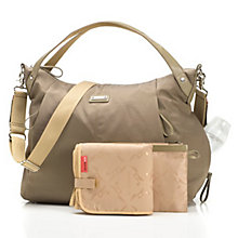 Buy Storksak Catherine Changing Bag, Moss Online at johnlewis.com
