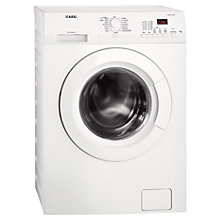 Buy AEG L61270FL Freestanding Washing Machine, 7kg Load, A+++ Energy Rating, 1200rpm Spin, White Online at johnlewis.com
