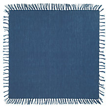 Buy John Lewis Croft Collection Tassel Napkins, Set of 4, Blue Online at johnlewis.com