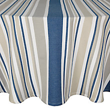 Buy John Lewis Nordic Stripe Tablecloth, Dia.180cm Online at johnlewis.com