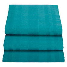 Buy John Lewis Al Fresco Ribbed Runner, Teal Online at johnlewis.com