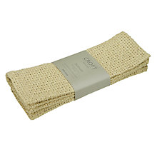 Buy John Lewis Croft Collection Jute Open Weave Placemats, Set of 2 Online at johnlewis.com