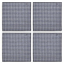 Buy John Lewis Gingham Check Navy Napkins, Set of 4 Online at johnlewis.com