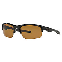 Buy Oakley 009164 Bottle Rocket Polarised Rectangle Sunglasses Online at johnlewis.com