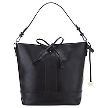 Buy Jigsaw Mini Bucket Bag, Black Online at johnlewis.com