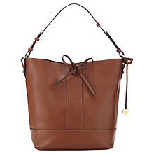Buy Jigsaw Large Leather Bucket Bag Online at johnlewis.com
