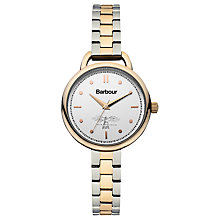 Buy Barbour Women's Clover Bracelet Strap Watch Online at johnlewis.com