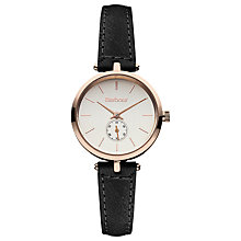 Buy Barbour BB011GDTN Women's Bradnell Leather Strap Watch Online at johnlewis.com