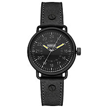 Buy Barbour BB022BKBK Men's International Fowler Watch, Black Online at johnlewis.com