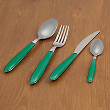 Buy House by John Lewis Vero Cutlery, Forest Green Online at johnlewis.com