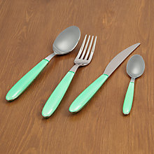 Buy House by John Lewis Vero Cutlery, Mint Online at johnlewis.com