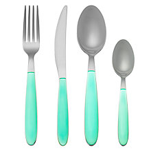 Buy House by John Lewis Vero Mint Cutlery Online at johnlewis.com