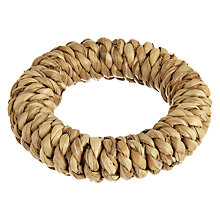 Buy John Lewis Croft Collection Woven Napkin Rings, Set of 4 Online at johnlewis.com