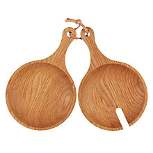 Buy John Lewis New England Salad Paddles Online at johnlewis.com