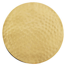 Buy John Lewis Bombay Cafe Hammered Coaster Online at johnlewis.com