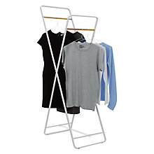 Buy House by John Lewis Folding Clothes Rail Online at johnlewis.com